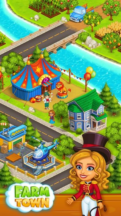 Farm Town: Happy farming Day screenshot-3