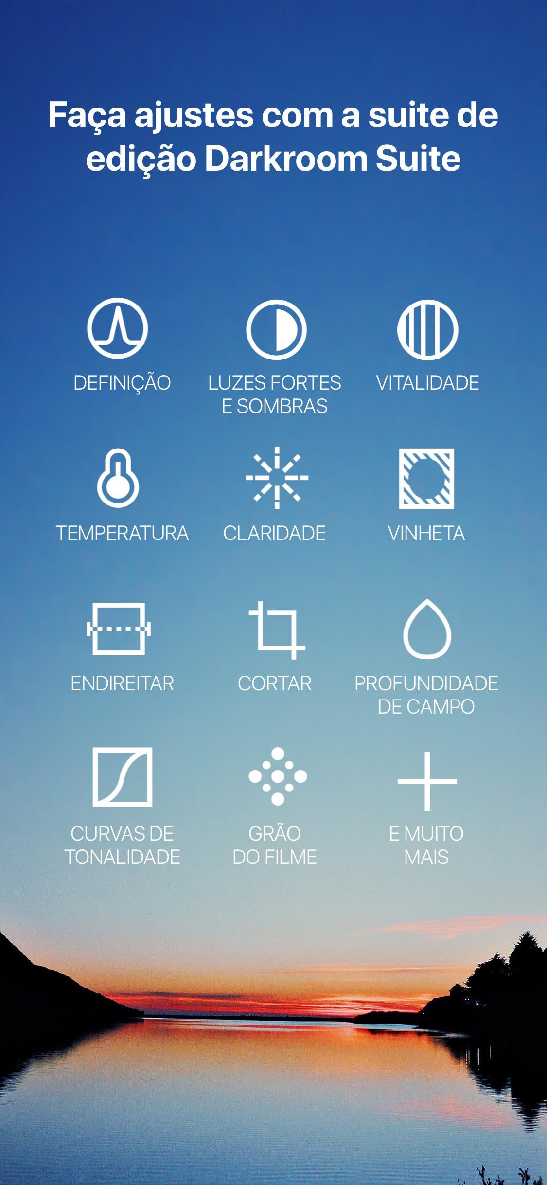 Screenshot do app Hipstamatic Classic