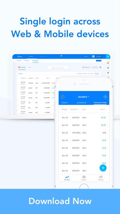 Blox Crypto Portfolio Tracker by Blox io