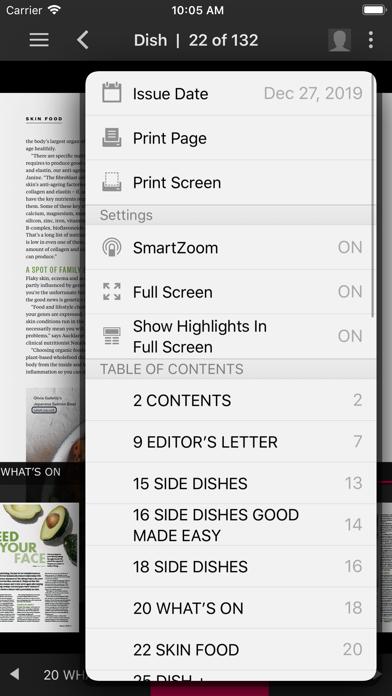 Dish MagazineScreenshot of 5