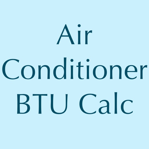 Air Conditioner BTU Calc icon
