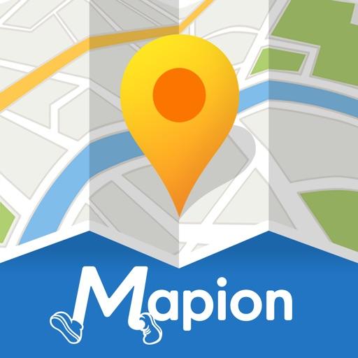 地図マピオン-ガソリン価格・駐車場検索&マップコード完全対応
