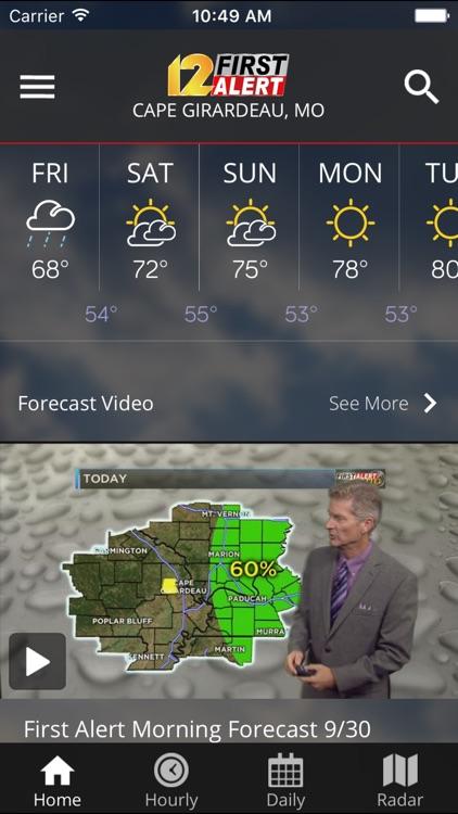 KFVS12 StormTeam Weather