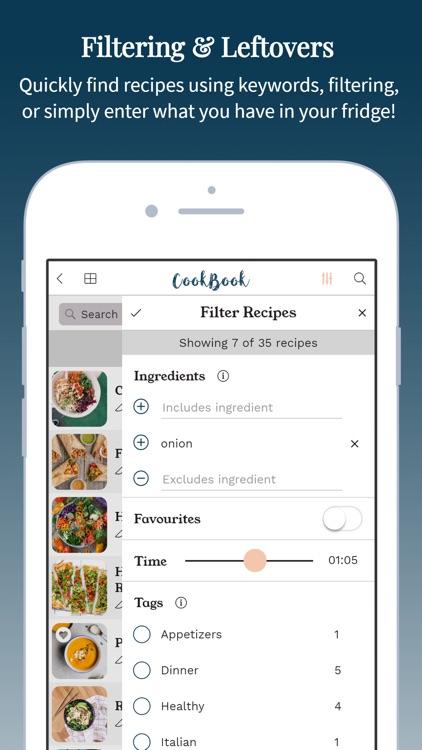 CookBook - The Recipe Manager screenshot-6