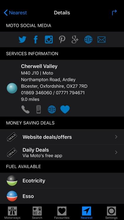 Motorway Services GB screenshot-9