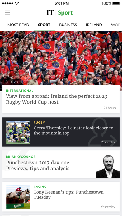 Baixar The Irish Times News para Android