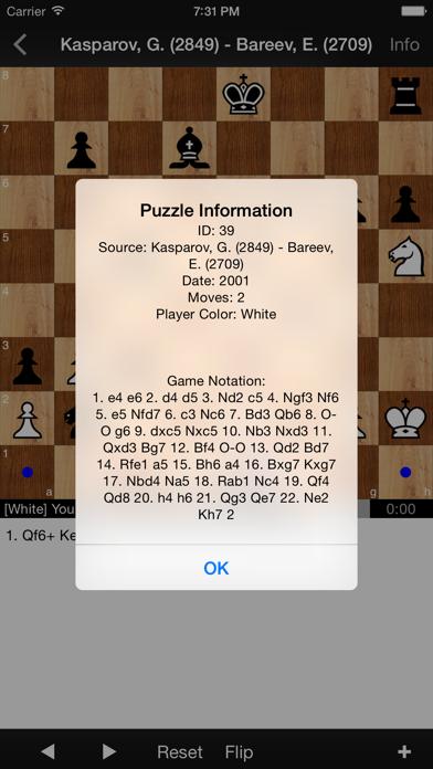 Chess Puzzles: World ... screenshot1