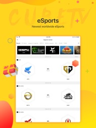 Cube TV – Live Games Community ipad images