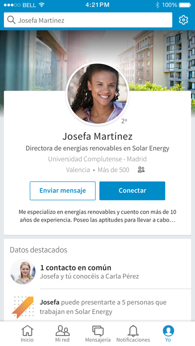 Screenshot for LinkedIn in Spain App Store