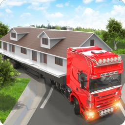 City House Mover Truck Drive
