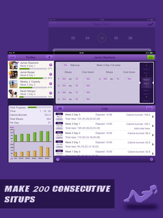 Situps Coach Pro for iPad