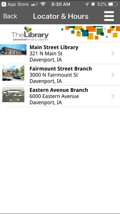 Davenport Public Library screenshot-3