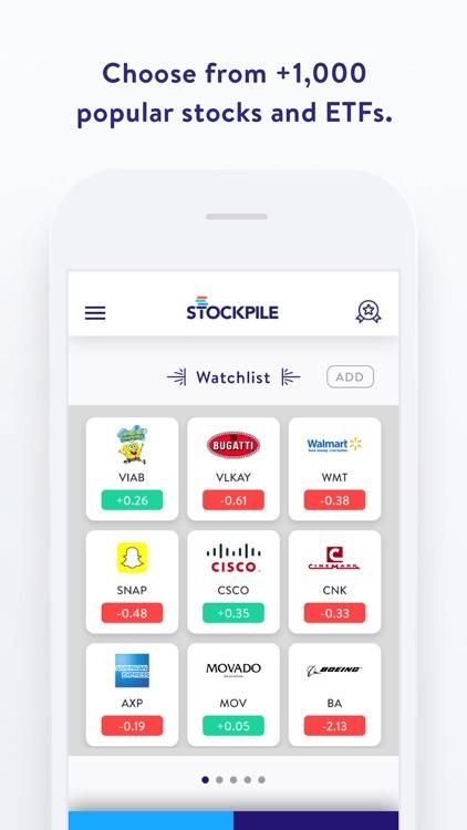 Stockpile - Stock Trading screenshot-3