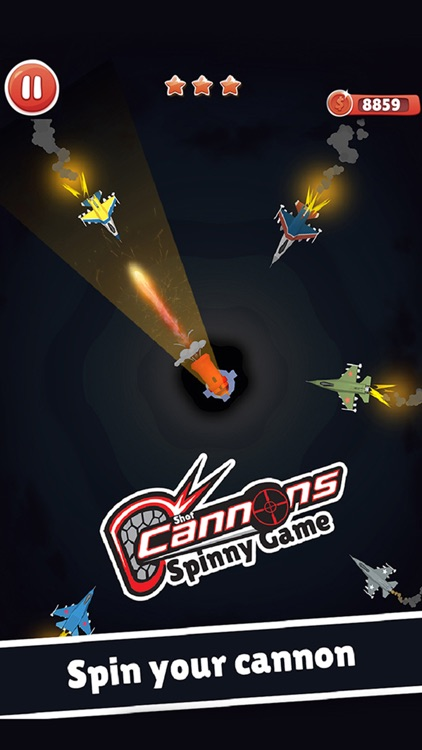 Cannon Shooter 3D Spinny Shot screenshot-0