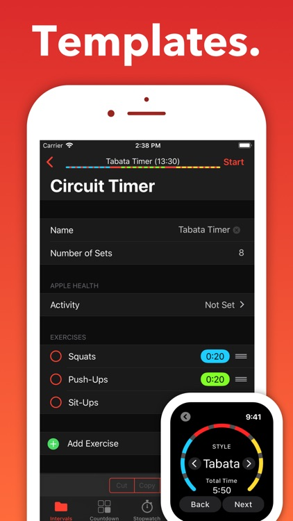 Seconds Pro Interval Timer screenshot-4