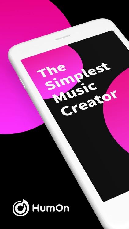 HumOn - Simplest Music Maker