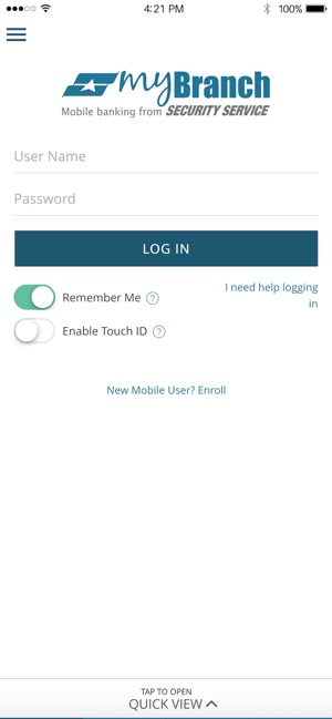 Ssfcu Login In >> Security Service Mybranch App On The App Store