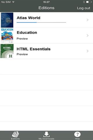 Ampersand Proofing App - náhled