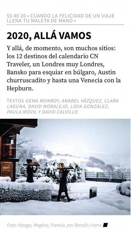 Conde Nast Traveler España screenshot-5