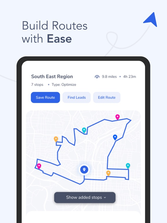 Map My Customers – Pin Mapping & Route Planning screenshot