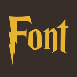 Fonts style Harry P.