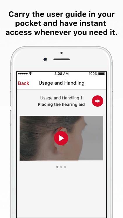 myHearing App screenshot-3