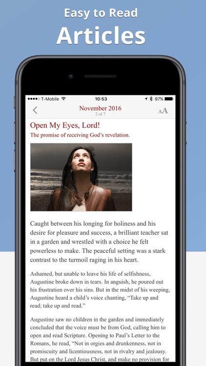 The Word Among Us Mass Edition screenshot-3