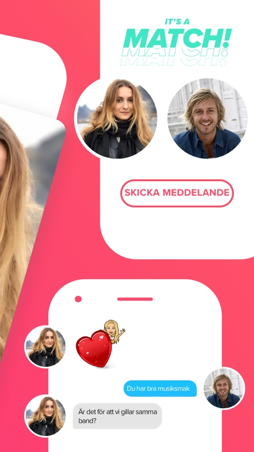 Svep dating apps