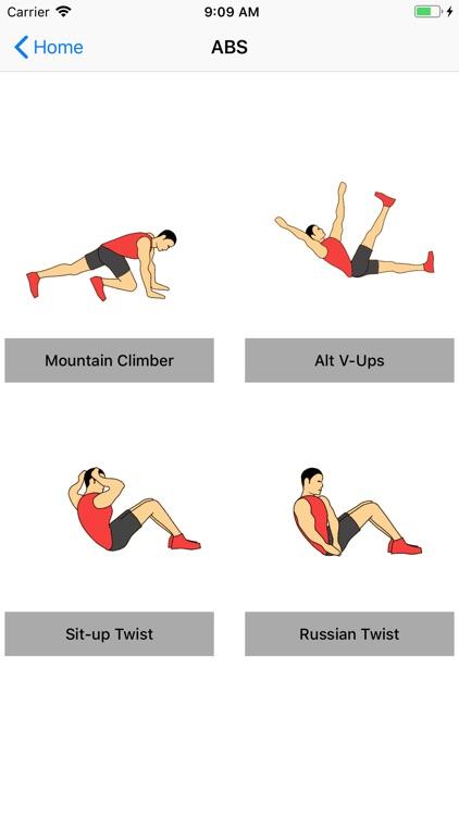 Home Workout Fitness screenshot-4