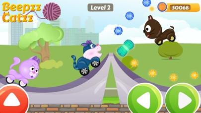 Beepzz Cats - Kids car racing screenshot four