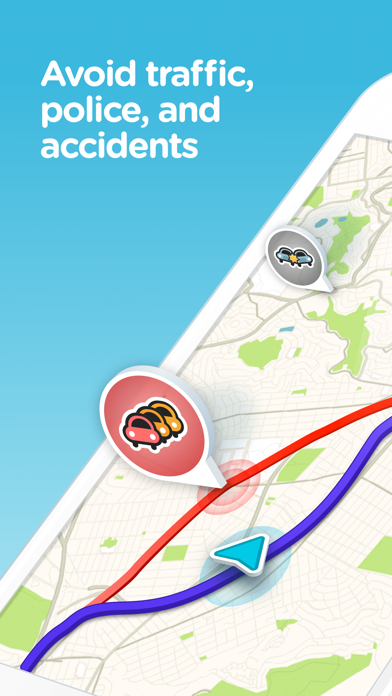 Screenshot for Waze Navigation & Live Traffic in United States App Store