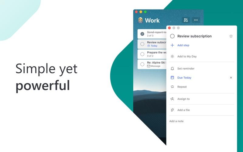 Microsoft To Do Screenshot