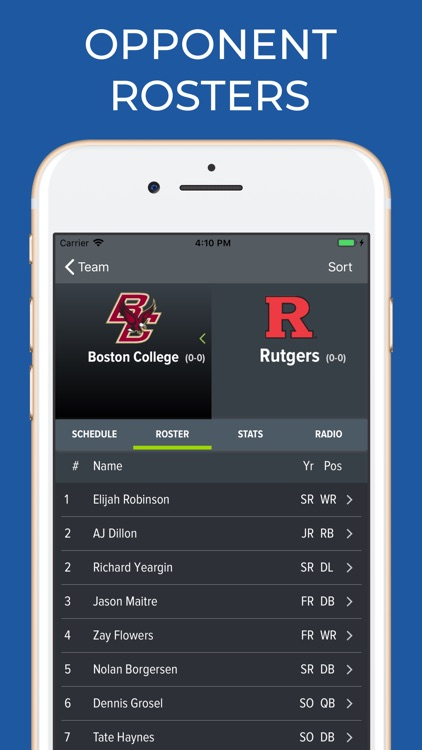 Rutgers Football Schedules screenshot-6