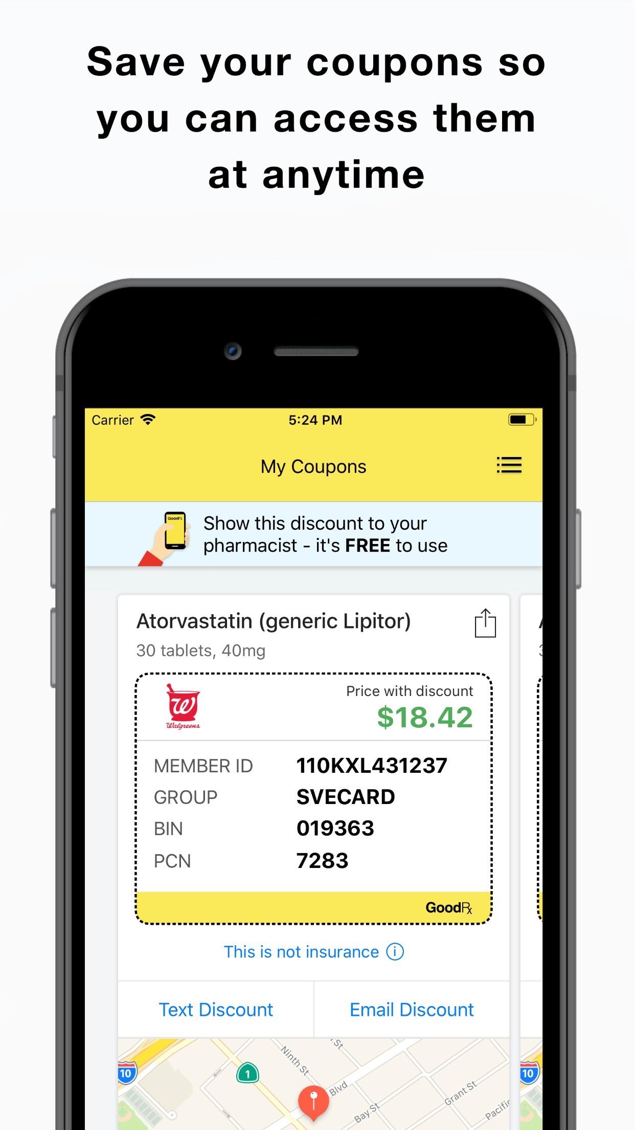GoodRx: Prescription Coupons Screenshot