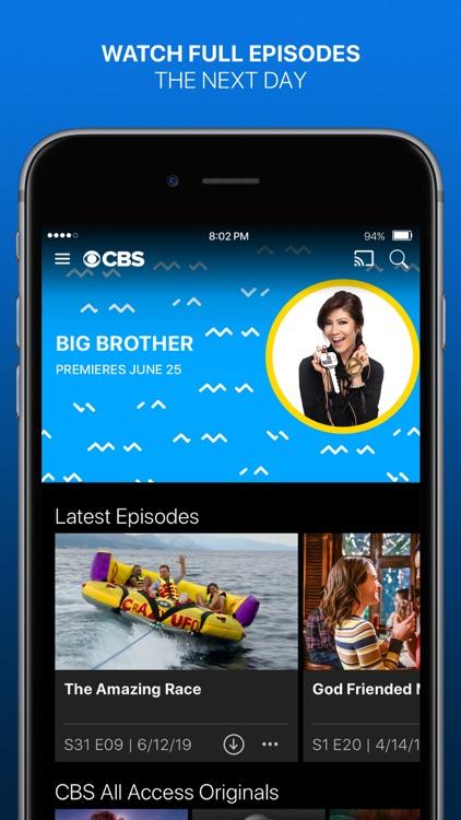 CBS - Full Episodes & Live TV screenshot-0