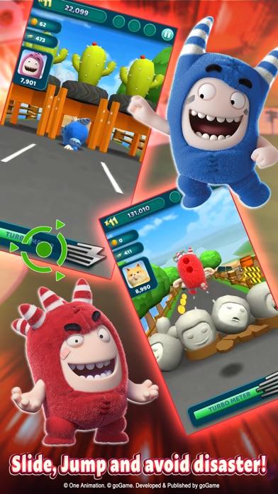 Oddbods: Turbo Run Screenshot on iOS