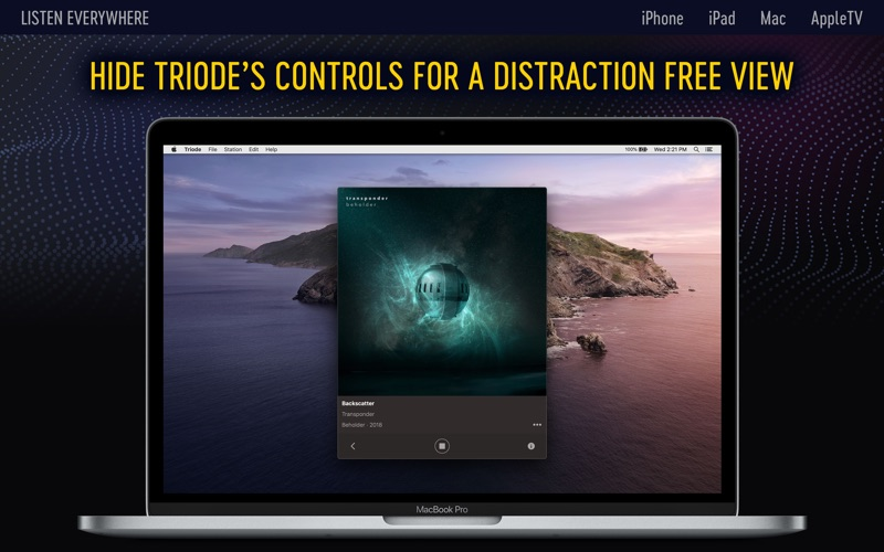Triode - Internet Radio for Mac