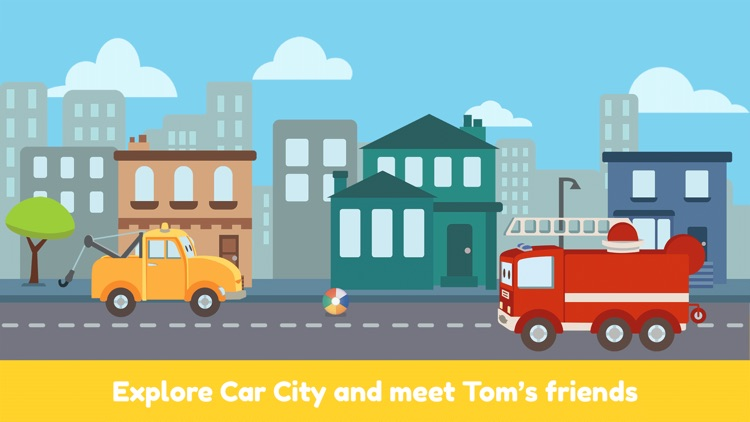 Tom the Tow Truck of Car City screenshot-0
