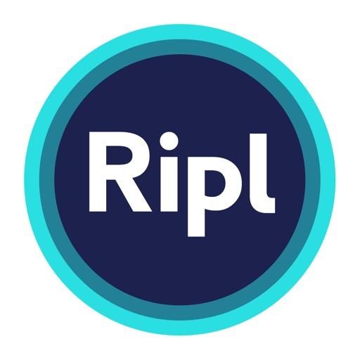 Ripl: Create Social Video Ads app logo