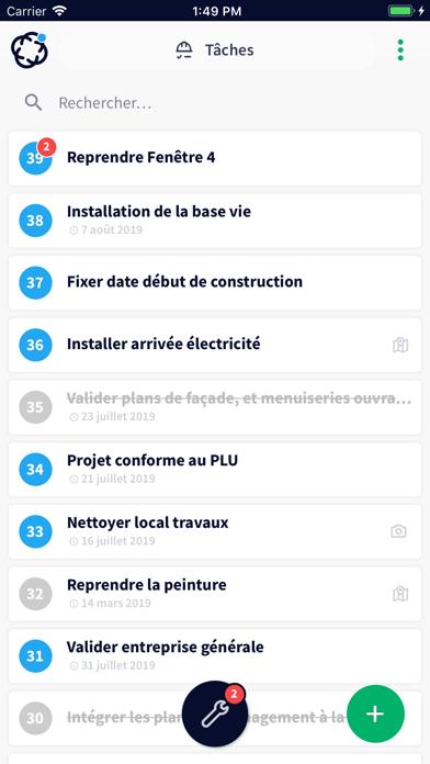 Clovis - project tool & BIM screenshot two