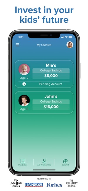 ‎U-Nest: College Savings App Screenshot