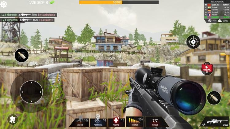 Sniper 3D: Bullet Strike PvP screenshot-4