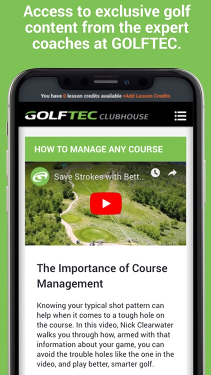 GOLFTEC CLUBHOUSE screenshot-4