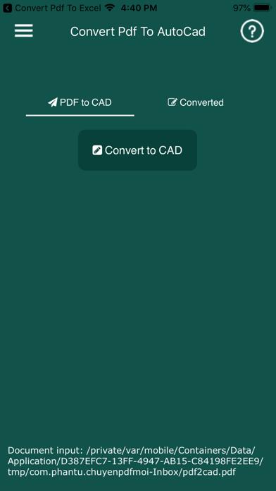 Convert PDF to AutoCad ScreenShot1