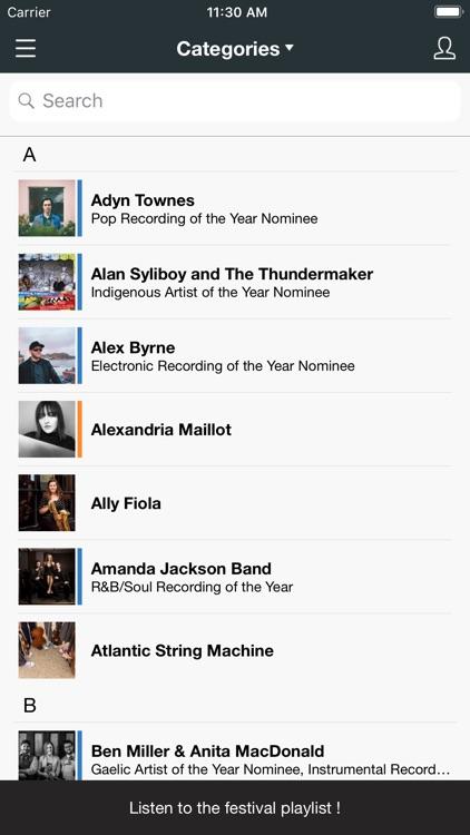 East Coast Music Awards screenshot-3