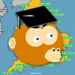 England Cities Map Quiz