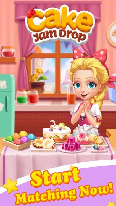 Cake Jam Drop - New Match Game screenshot 1
