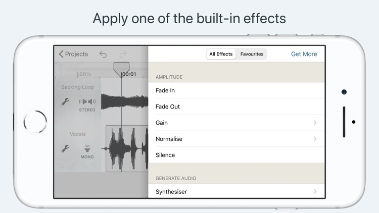 Hokusai Audio Editor screenshot-2