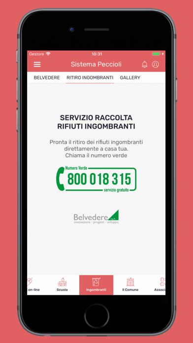 Screenshot of Sistema Peccioli3
