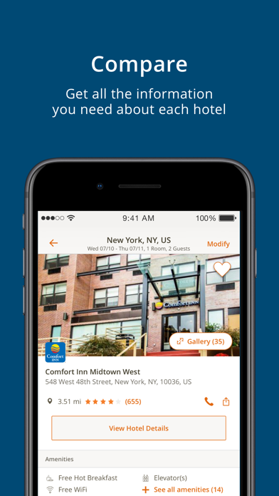 Choice Hotels - Revenue & Download estimates - Apple App Store - US